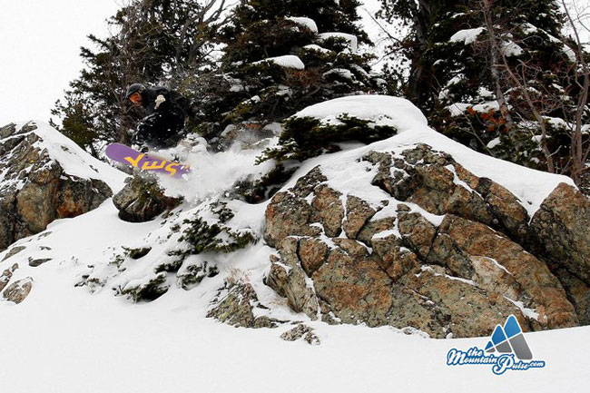The Mountain Pulse Photo of the Day 12/04/10 - Snowboarding Jackson Hole