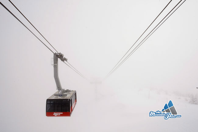 The Mountain Pulse Photo of the Day 12/06/10 - Jackson Hole Tram