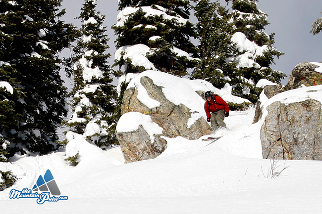 The Montain Pulse Photo of the Day 12/10/10 - Jackson Hole Skiing