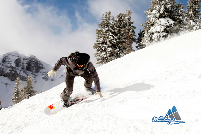 The Mountain Pulse Photo of the Day 12/11/10 - Snowboarding Rendezvous Bowl