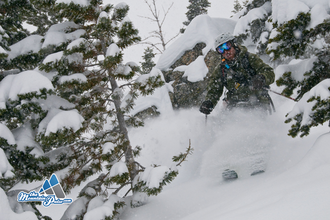 The Mountaoin Pulse Photo of the Day 01/02/10 - Jackson Hole Backcountry