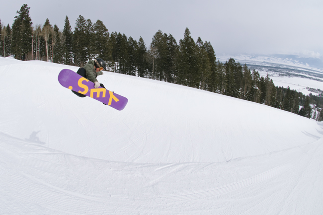 The Mountain Pulse Photo of the Day 01/09/11 - Jackson Hole Half Pipe