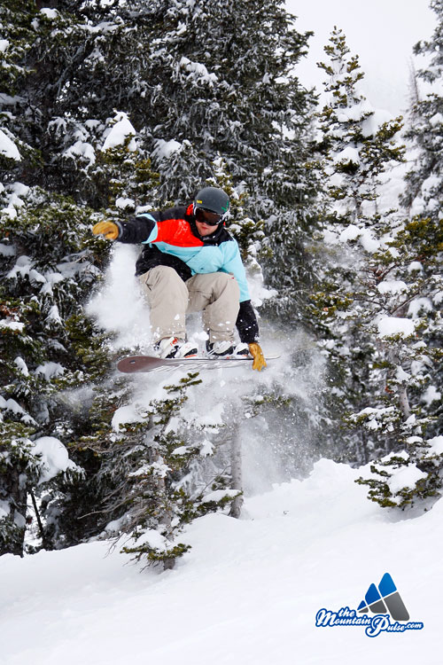 The Mountain Pulse Photo of the Day 01/15/11 - Snowdoarding at Jackson Hole