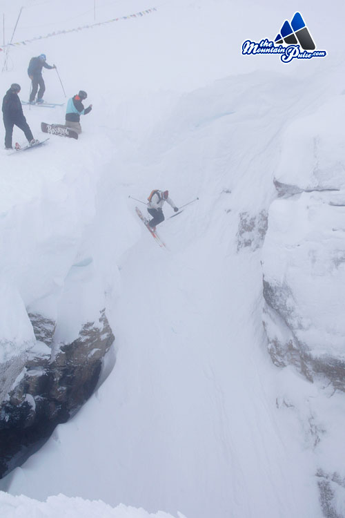 The Mountain Pulse Photo of the Day 01/16/11 - Corbet's Couloir