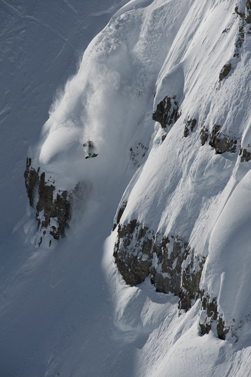 Darell Miller Darrell miller making the best out of Valentines Day, 2010 in the JH backcountry.  Photographer: Chris Figenshau