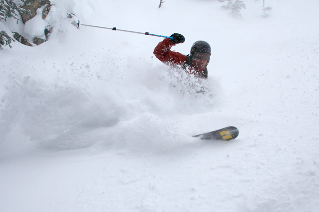 The Mountain Pulse Photo of the Day 02/17/11 - Deep Powder