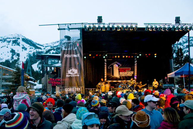 The Mountain Pulse Jackson Hole Photo of the Day 03/26/11 - live music