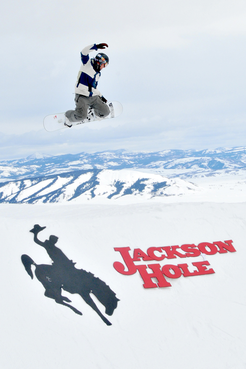The Mountain Pulse Jackson Hole Photo of the Day 03/29/11 - Big air