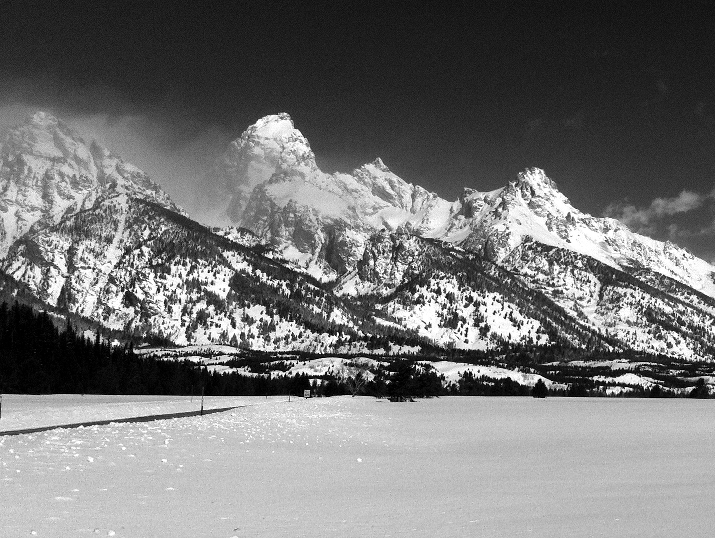 The Mountain Pulse Jackson Hole Photo of the Day 04/12/11 - The Grand Teton