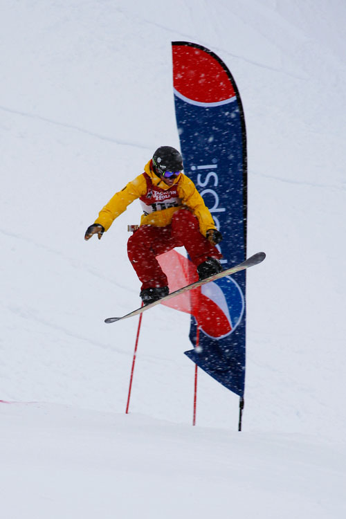 The Mountain Pulse Photo of the Day 03/05/11 - Rob Kingwill competes in Jackson Hole's Dick's Ditch Competition