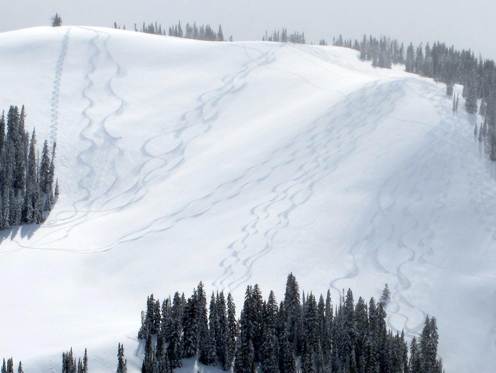 The Mountain Pulse Photo of the Day 04/19/11 - Backcountry Skiing on Teton Pass