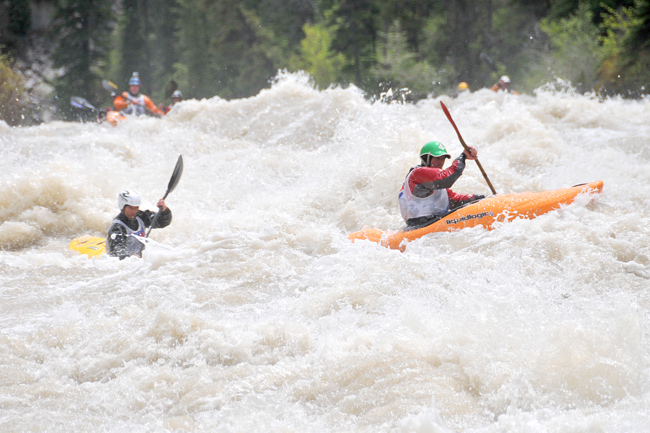 the mountain pulse, kayaking, wyoming whitewater championships, greys river