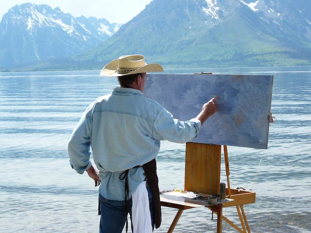 Artist in the Environment jackson Hole Grand Teton National Park The Mountain Pulse