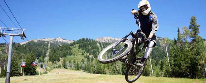 jackson hole mountain resort mountain biking teton village the mountain pulse