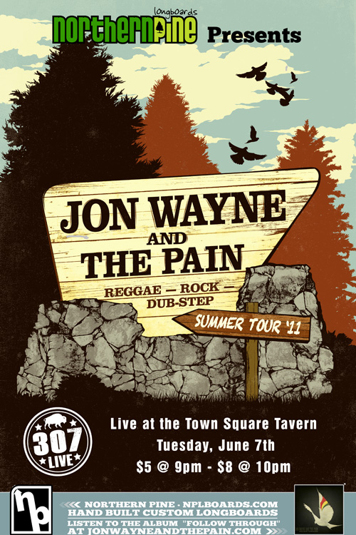jon wayne and the pain live in jackson hole presented by 307 live