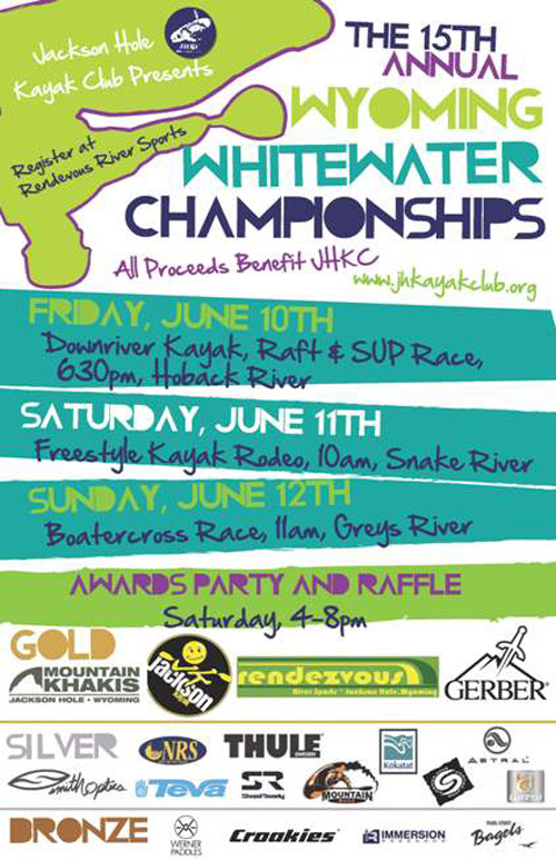 whitewater championships jackson hole, snake river, greys river, kayaking, the mountain pulse