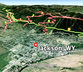 geo-programming jackson hole wyoming, jackson hole maps, trail maps