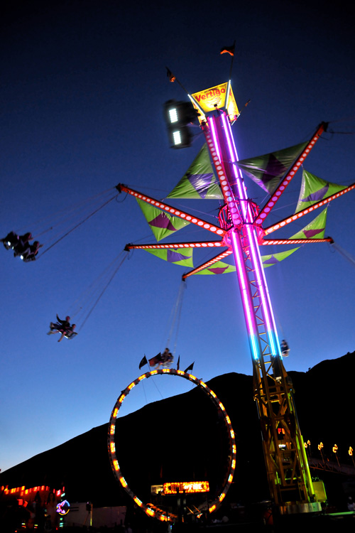 07-27-11, jackson hole wyoming, teton county fair, carnival, photo of the day, grand teton national park