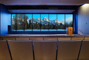 discovery center auditorium jackson hole grand teton national park the mountain pulse