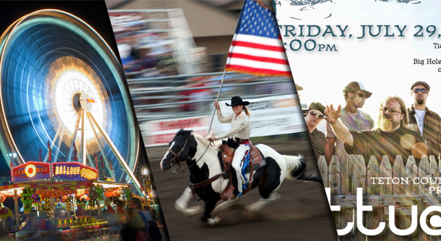 banner_09, teton county fair, jackson hole wyoming, rodeo, carnival, lettuce show, figure 8 racing, grand teton national park, pig wrestling