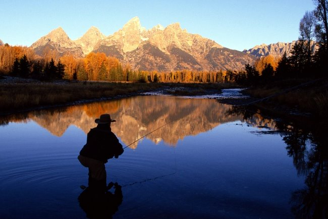 Jackson Hole Fly Fishing Grand Teton National Park The Mountain Pulse