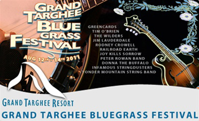 Grand-Targhee-Bluegrass-Poster-2011, 24th annual grand targhee bluegrass festival, alta wyoming, yonder mountain string band