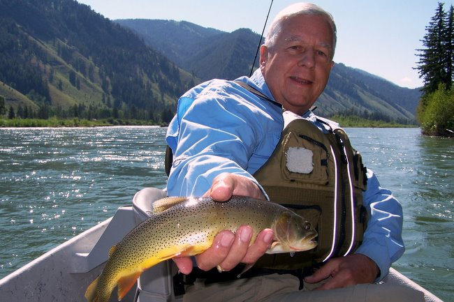 United States Senator Mike Enzi Fly Fishing Wyoming Grand Teton National Park The Mountain Pulse