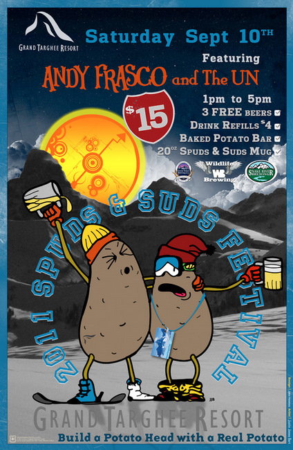 Spuds and Suds Event Grand Targhee The Mountain Pulse