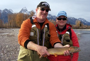 Fall fly fishing Jackson Hole fish the fly the mountain pulse wyomning grand teton national park