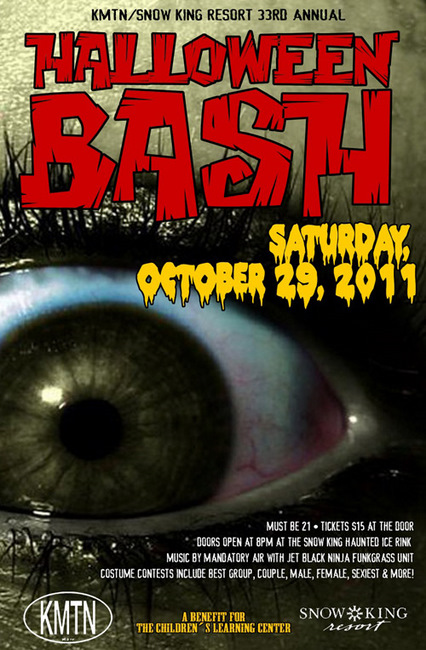 halloween bash the mountain pulse jackson wyoming ski party events grand teton jackson hole