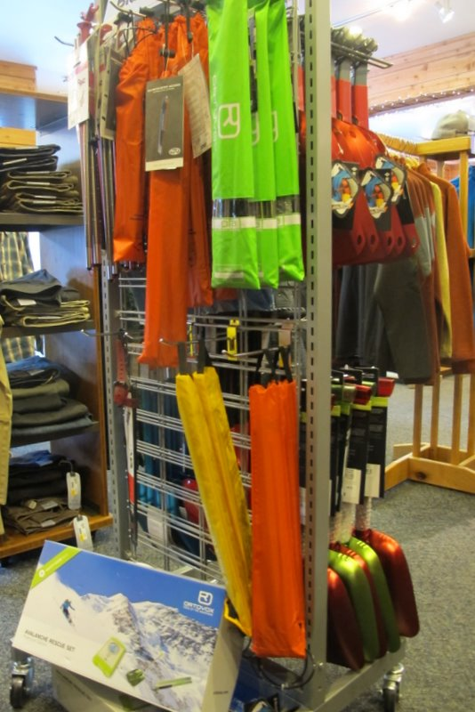 skinny skis avalanche equipment jackson hole the mountain pulse