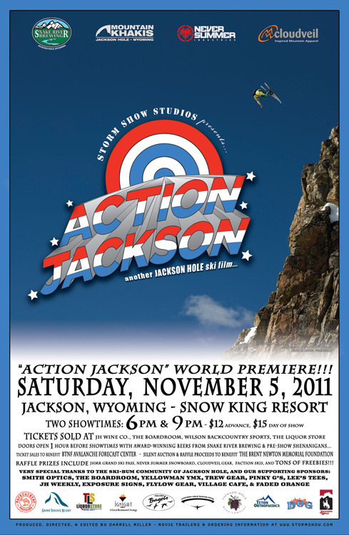 Action Jackson film premiere the mountain pulse jackson hole ski snowboard winter 2011 2012