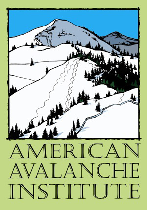 american_avalanche_institute_logo, avalanche education course awareness jackson hole tetons
