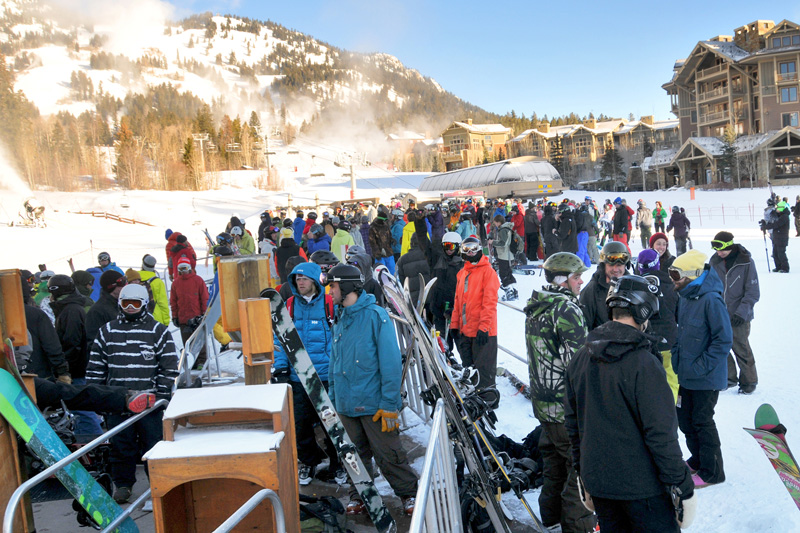 opening_day_01, jackson hole opening day in photos, opening day review, the mountain pulse