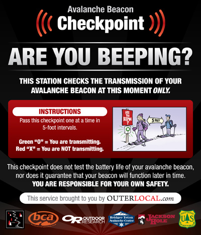 outer_local_beacon_stations, teton pass, backcountry gates transceiver stations, checkpoints, are you beeping