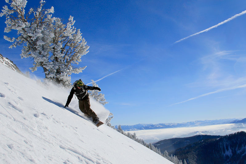 the mountain pulse, photo of the day, snowboarding, teton pass, f-stop,