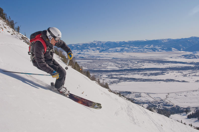 the mountain pulse, photo of the day, skiing, jackson hole, armada skis