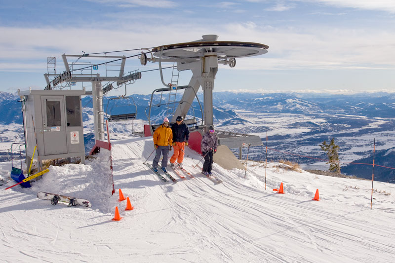 the mountain pusle photo of the day jackson hole mountain resort sublette chairlift skiing