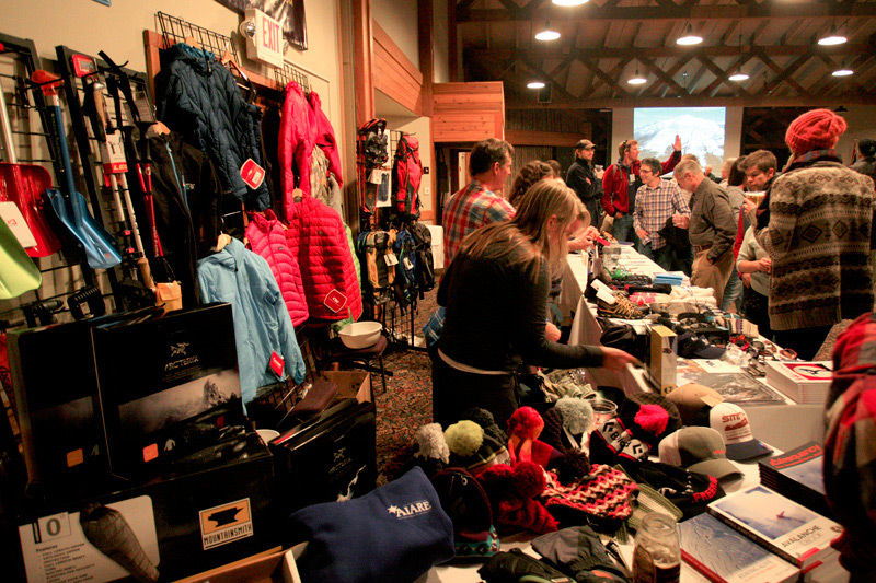avalanche_awareness_01, skinny skis, raffle, avalanche awareness night, jackson hole wyoming, snow king resort