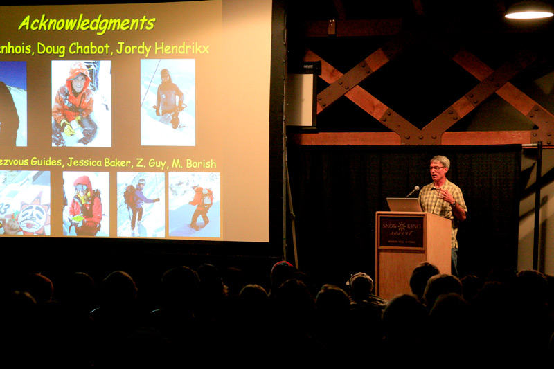 avalanche_awareness_04, avalanche awareness night, jackson hole, teton snowpack forecast, dr karl birkeland