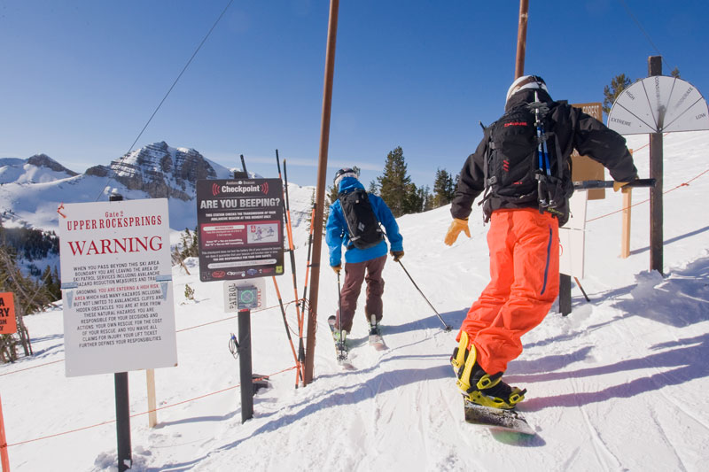 the mountain pulse, photo of the day, jackson hole, avalanche awareness, skiing, snowboarding, backcountry access, outdoor research, outer local