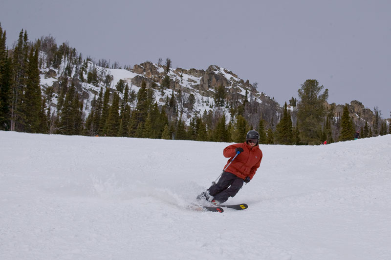 the mountain pulse, photo of the day, jackson hole, armada skis, skiing