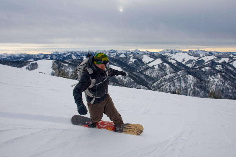 the mountain pulse, photo of the day, jackson hole, teton pass, snowboarding, stephen williams, backcountry