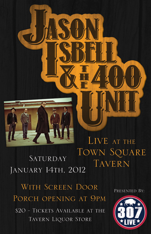 jason_isbell_01, jason isbell and the 400 unit, town square tavern jackson hole wyoming 307 live the mountain pulse