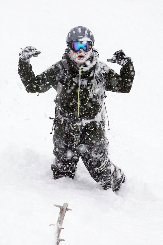 williams_01, jackson hole wyoming storm report, snowfall in wyoming, beard caked with snow, the mountain pulse