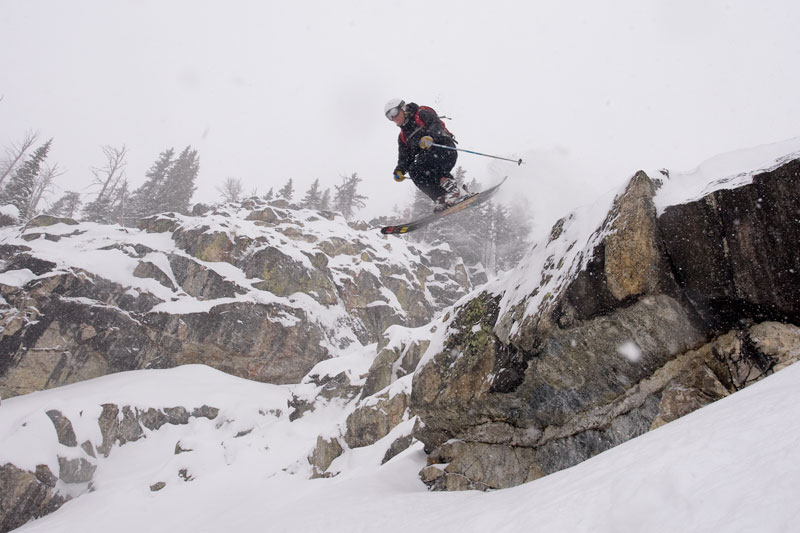 the mountain pulse, jackson hole, photo of the day, skiing, armada skis, rob cocuzzo