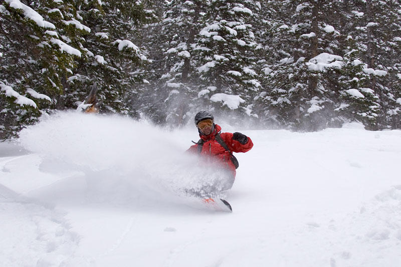 the mountain pulse, photo of the day, jackson hole, snowboarding powder, teton pass, kevin wittig