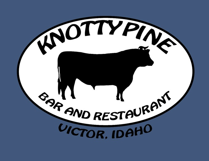 knotty pine logo the mountain pulse jackson hole wyoming victor id