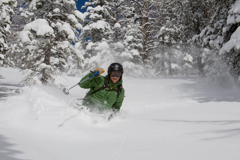 the mountain pulse, photo of the day, jackson hole, powder, skiing
