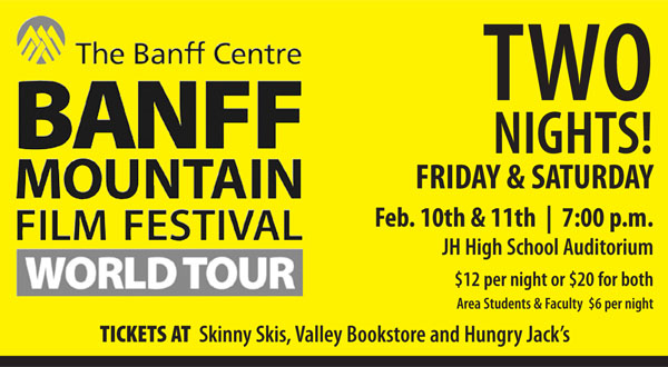 banff film festival jackson hole wyoming skinny skis the mountain pulse